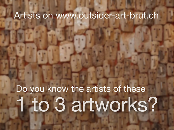 The artists with 1 to 3 artworks